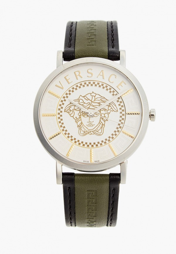 женские часы versace, хаки