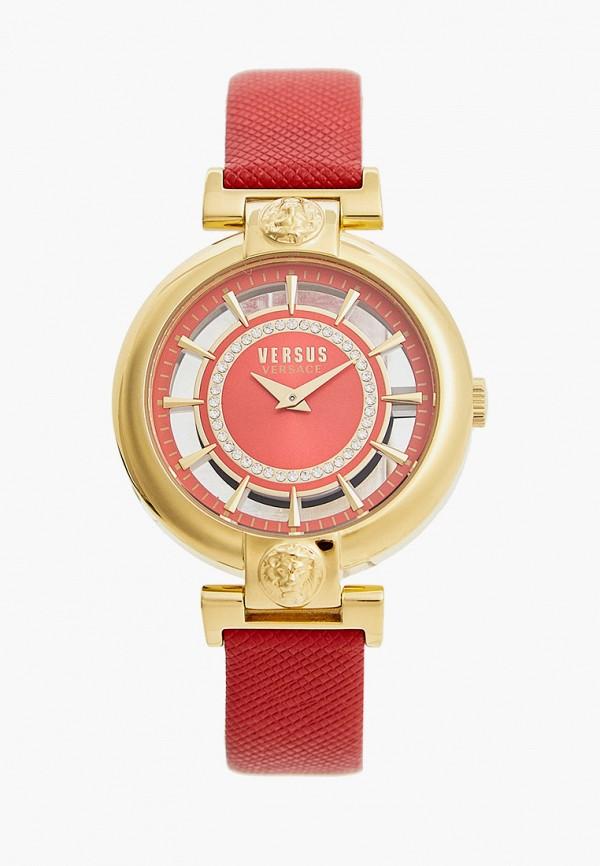 женские часы versus versace, красные