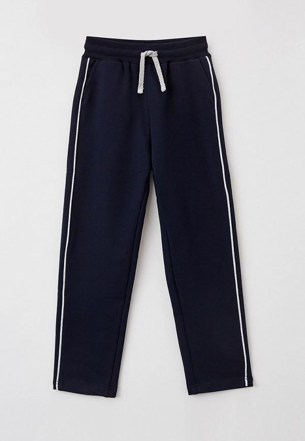 спортивные брюки button blue для девочки, синие