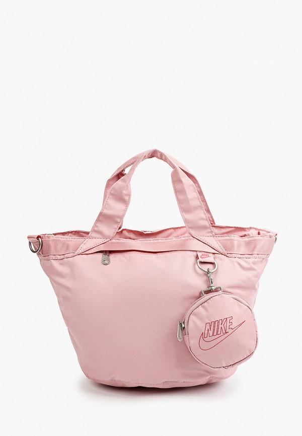 женский спортивные кошелёк nike, розовый