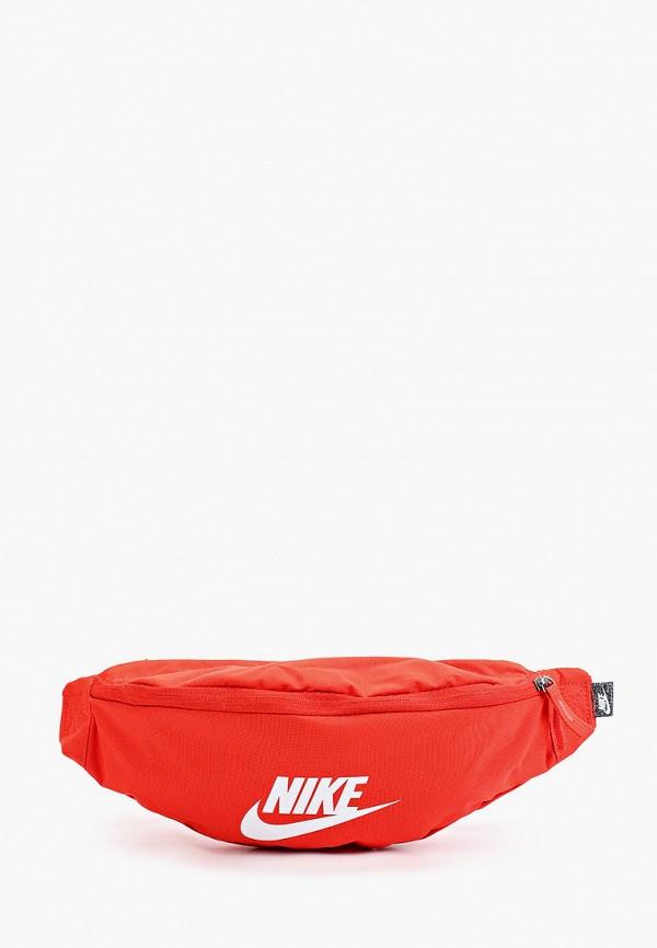 женская поясные сумка nike, красная