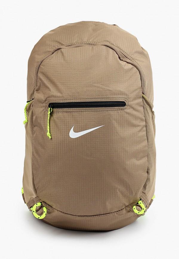 женский рюкзак nike, коричневый
