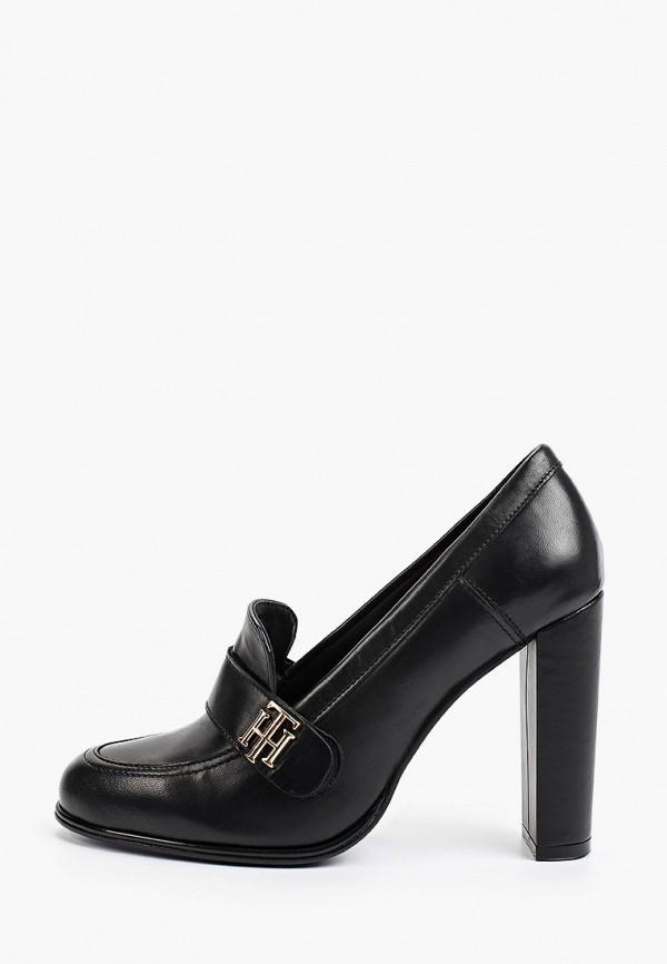 Туфли Tommy Hilfiger черного цвета