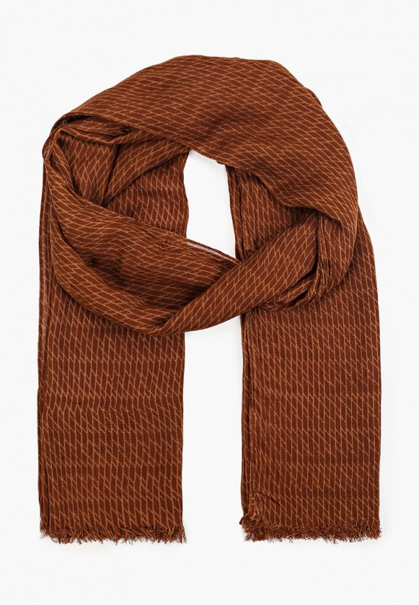 женский палантин united colors of benetton, коричневый