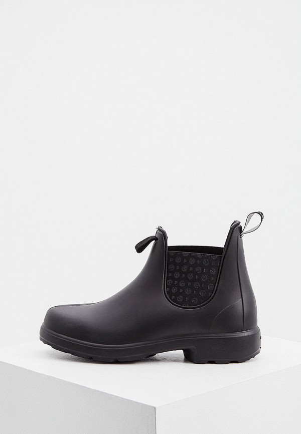 мужские ботинки pollini, черные