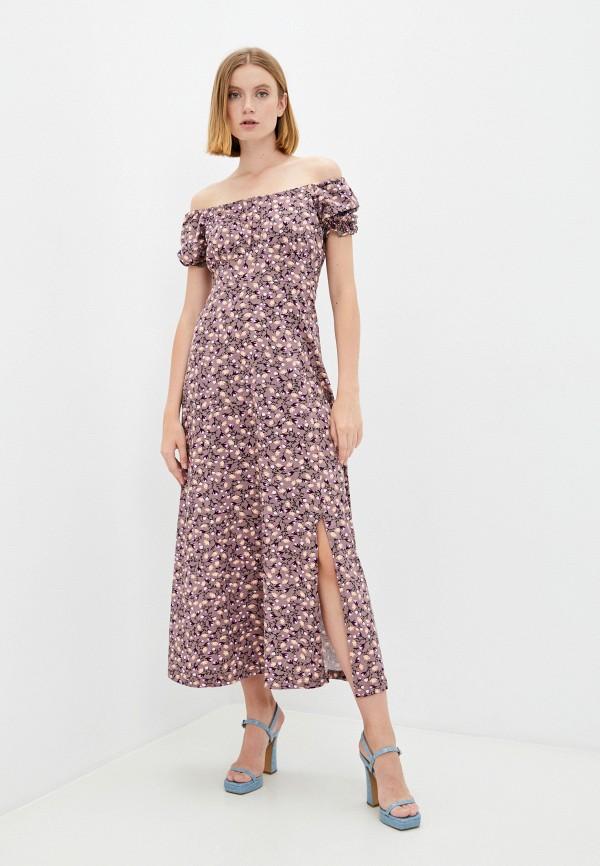 женское повседневные платье rene santi, розовое