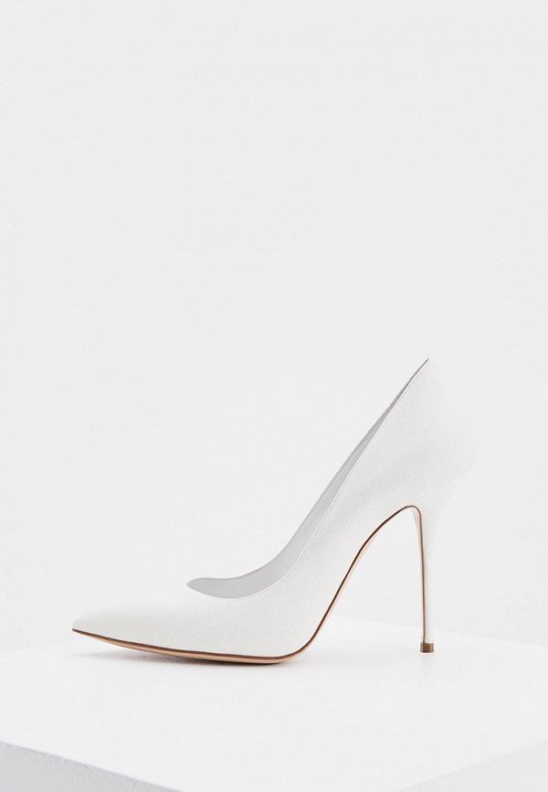 женские туфли-лодочки casadei, серебряные