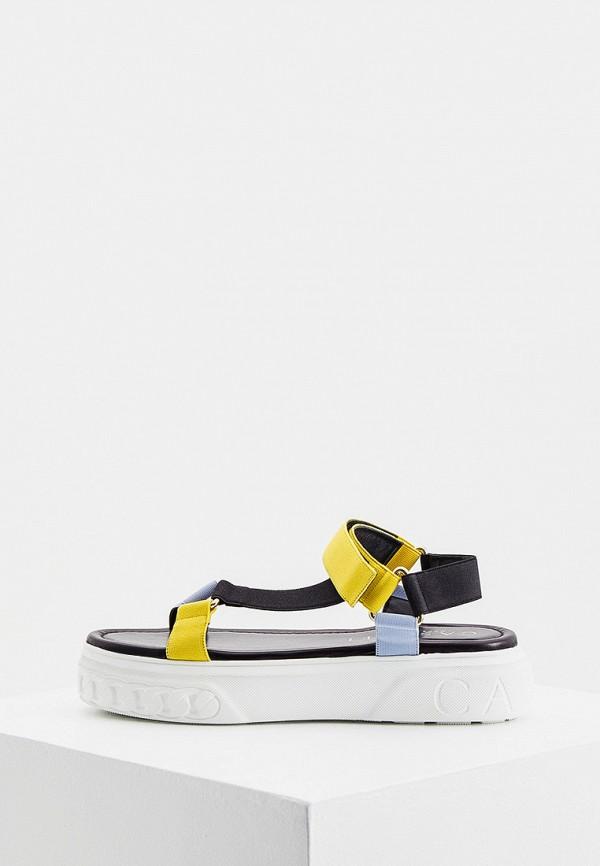 женские сандалии casadei, разноцветные