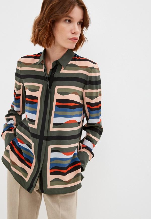 женская блузка akris punto, разноцветная