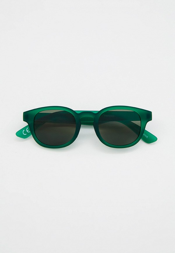 солнцезащитные очки mango kids для мальчика, зеленые