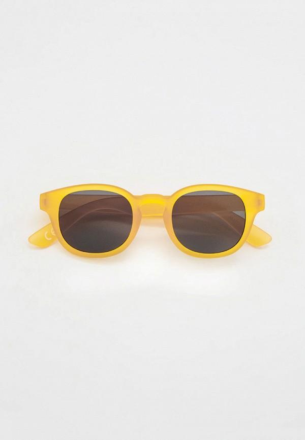 солнцезащитные очки mango kids для мальчика, желтые