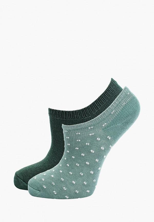 носки mango kids для девочки, зеленые