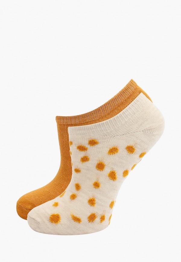 носки mango kids для девочки, разноцветные