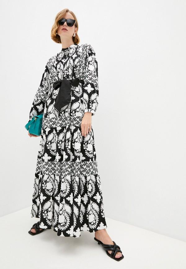 Платье Diane von Furstenberg черного цвета