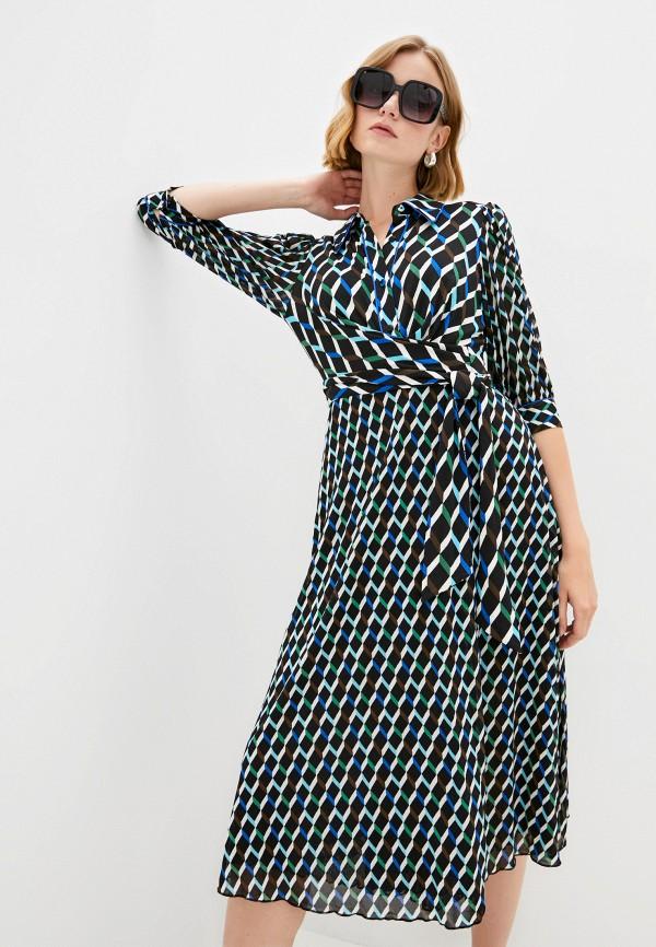 женское платье-рубашки diane von furstenberg, разноцветное