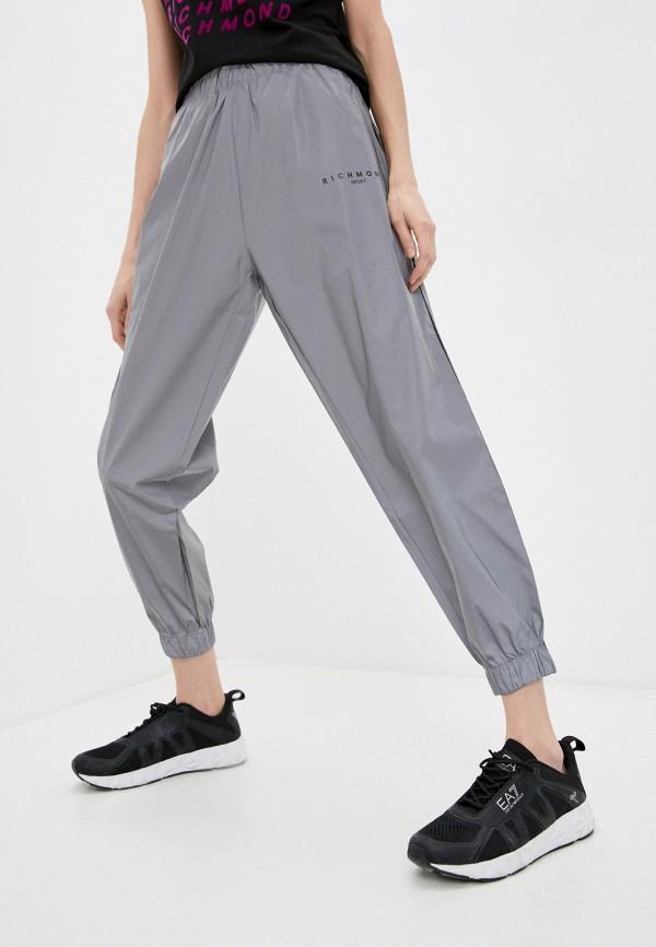 женские спортивные брюки richmond sport, серебряные