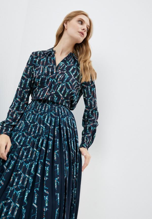 Блуза Tommy Hilfiger синего цвета