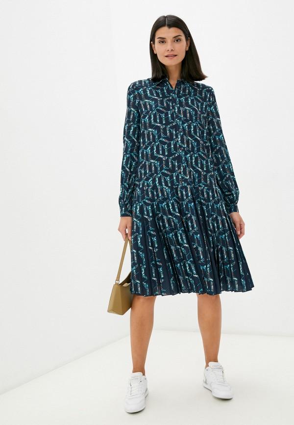 Платье Tommy Hilfiger зеленого цвета