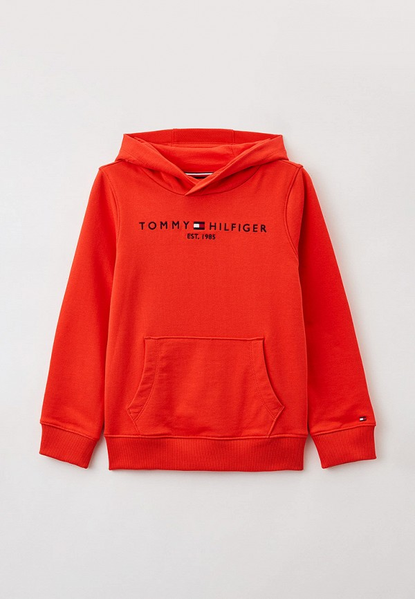 Худи Tommy Hilfiger красного цвета