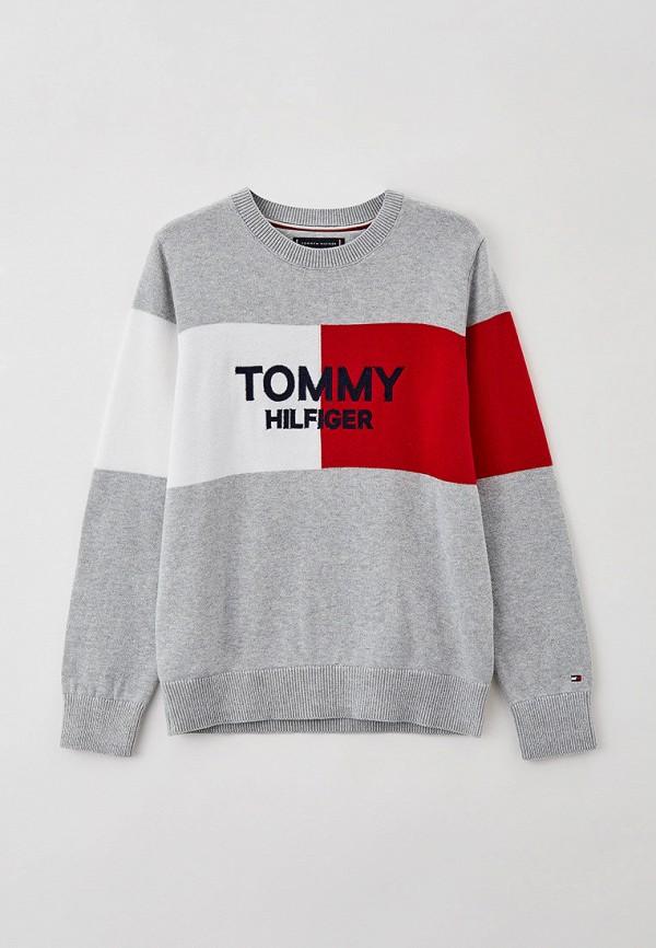 Джемпер Tommy Hilfiger серого цвета