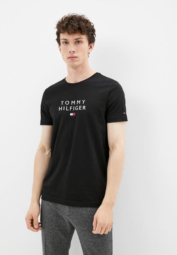 Футболка Tommy Hilfiger черного цвета