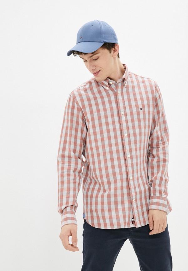 Рубашка Tommy Hilfiger розового цвета