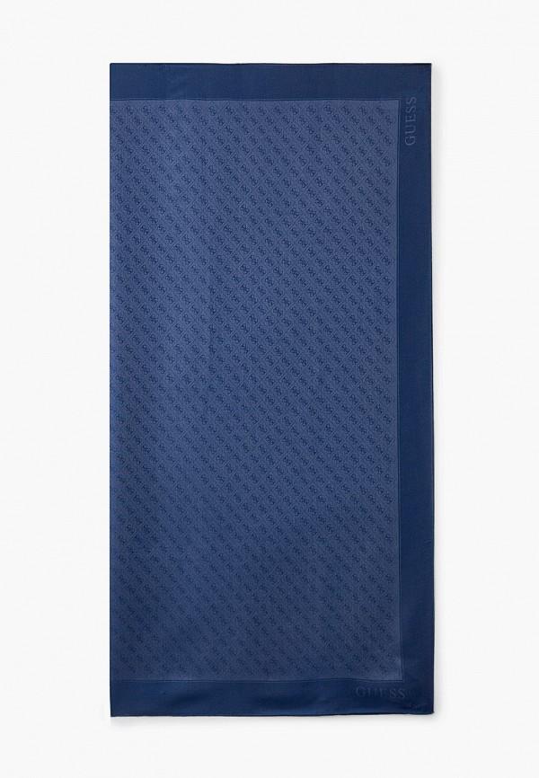 женский платок guess, синий