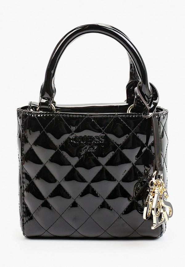 сумка guess для девочки, черная
