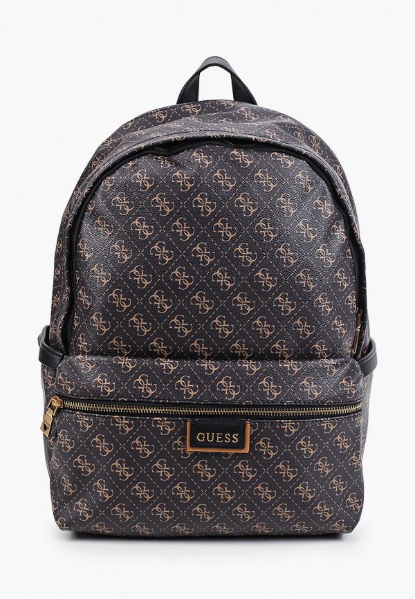 мужской рюкзак guess, коричневый
