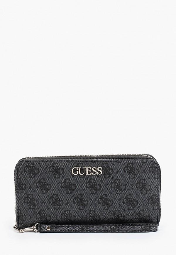 женский кошелёк guess, серый