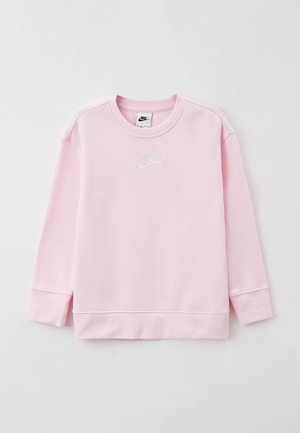 Свитшот Nike розового цвета