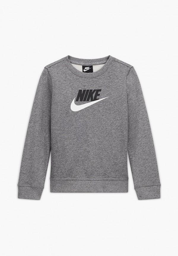 Свитшот Nike серого цвета