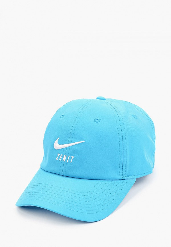 женская бейсболка nike, голубая