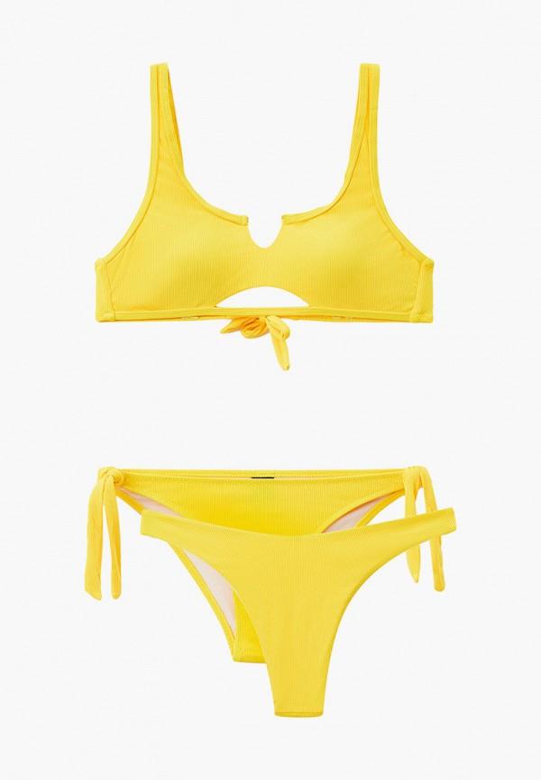 женские плавки rene santi, желтые