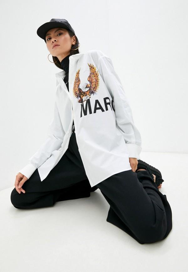 Рубашка MM6 Maison Margiela RTLAAM407501I420