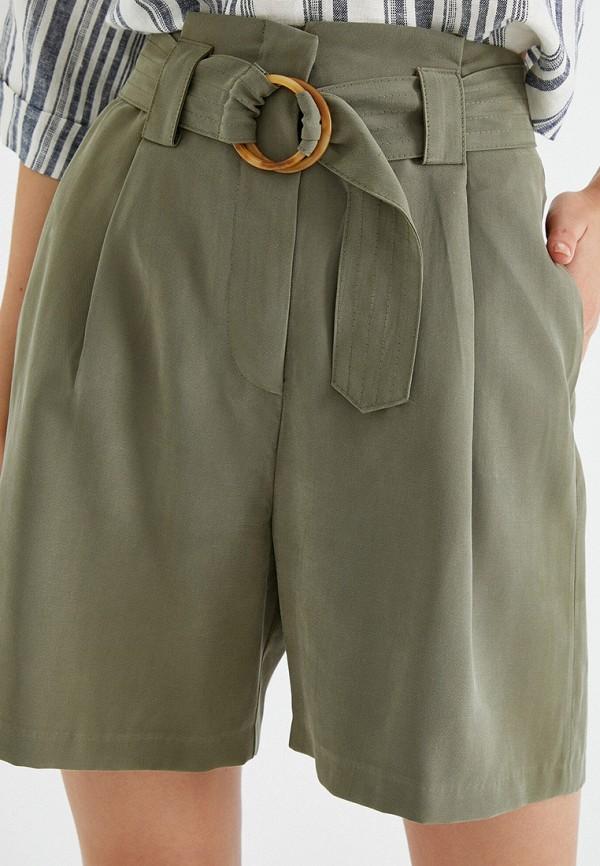 женские повседневные шорты koton, бежевые