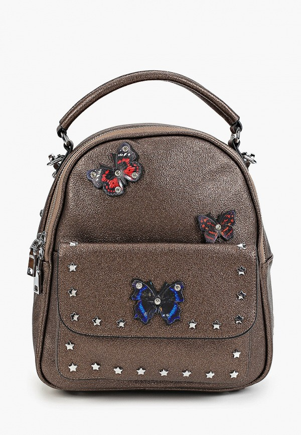 женский рюкзак aaquamarina, коричневый