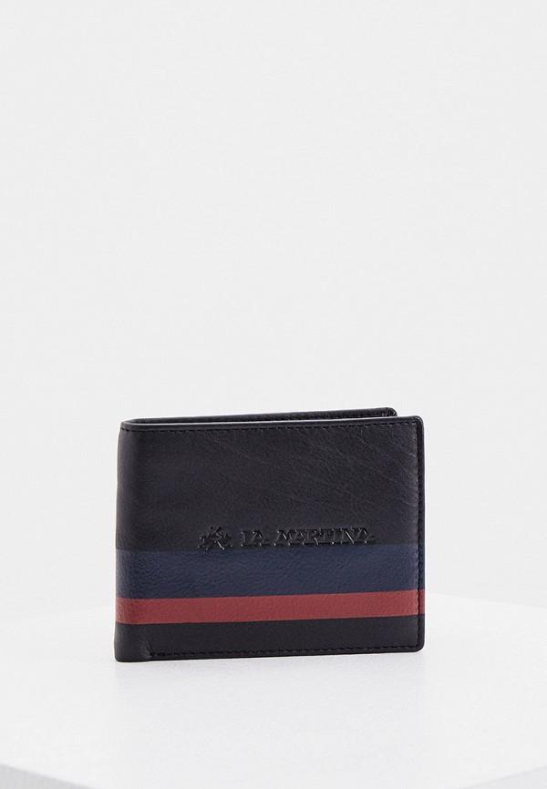 мужской кошелёк la martina, черный
