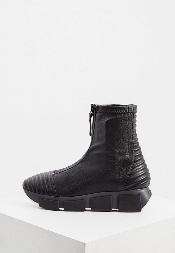 женские высокие кроссовки vic matie, черные