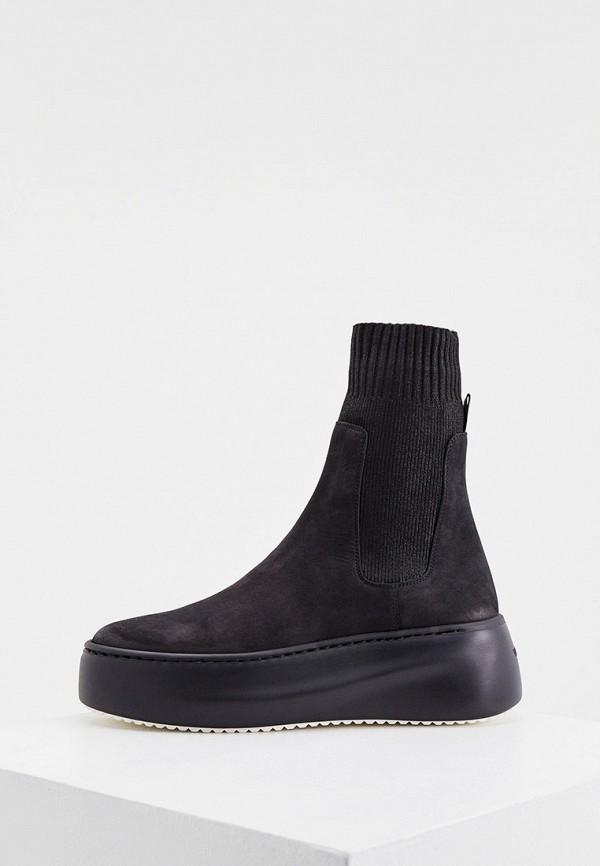 женские ботинки-челси vic matie, черные
