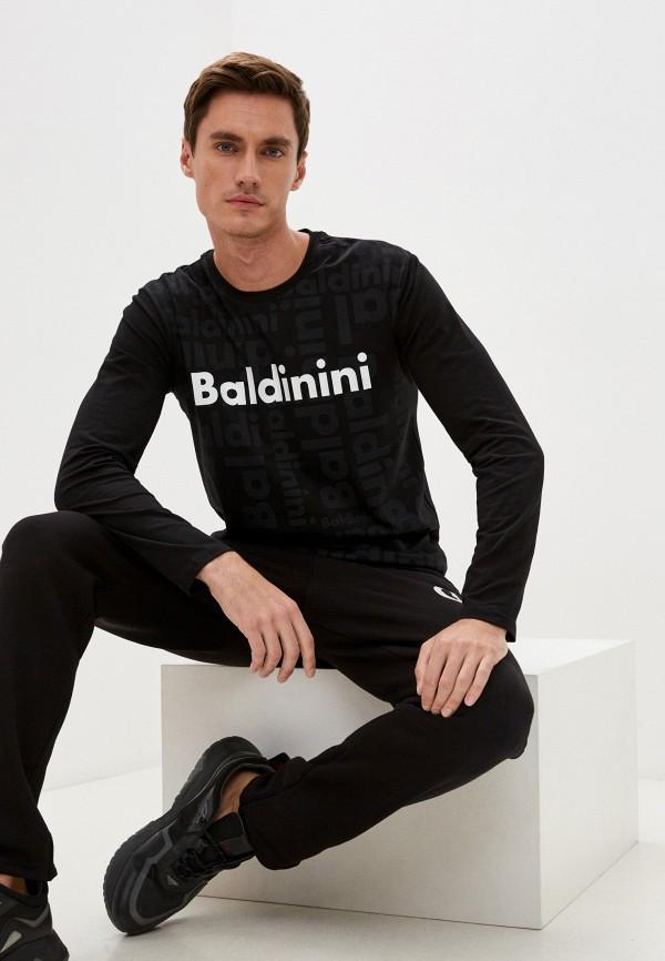 мужской лонгслив baldinini, черный