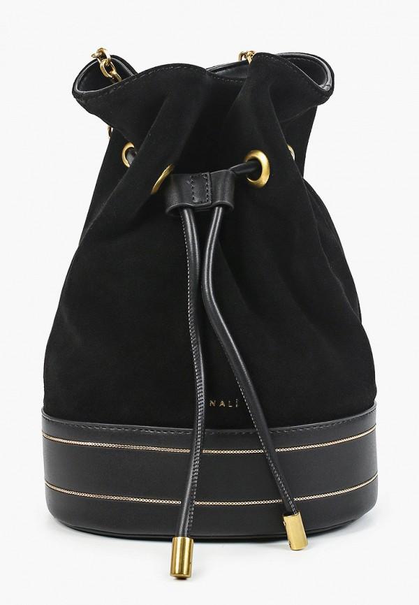 женская сумка nali, черная