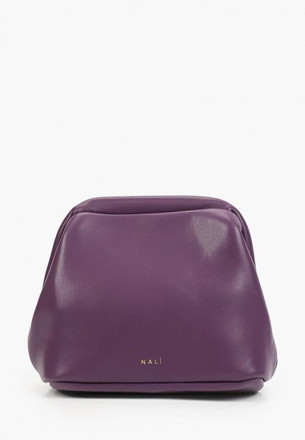 женская сумка nali, фиолетовая