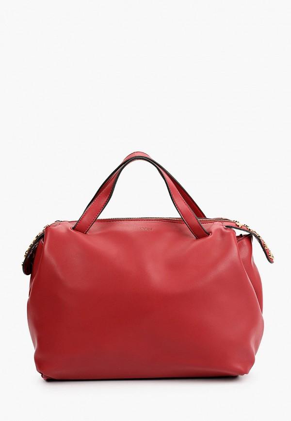 женская сумка с ручками nali, красная