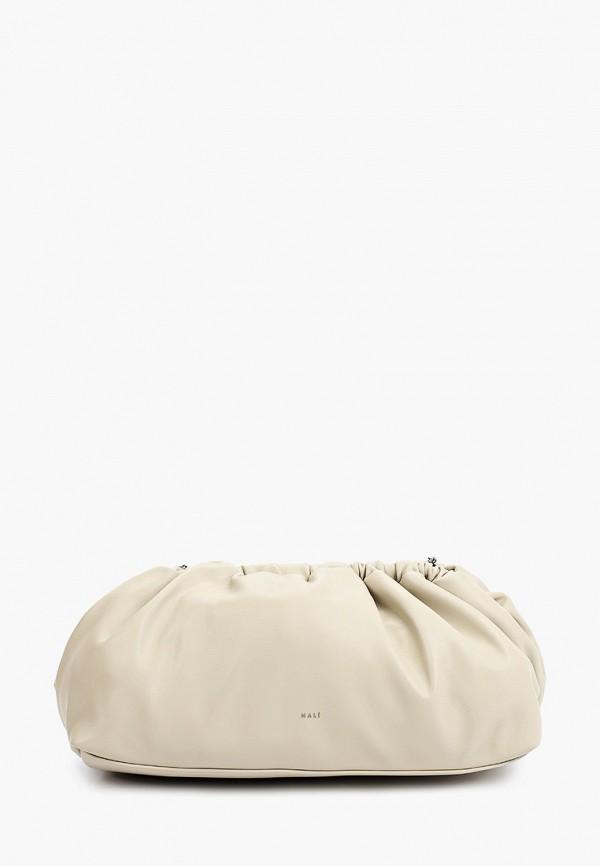 женская сумка через плечо nali, бежевая