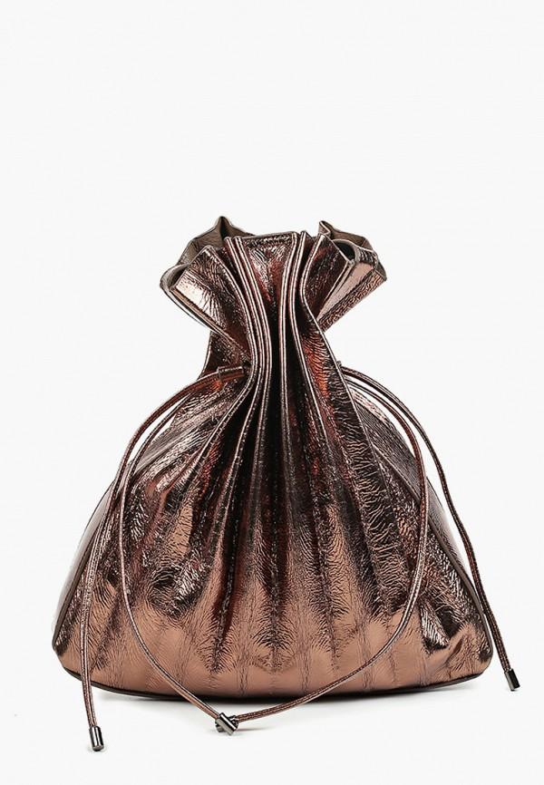 женская сумка с ручками nali, коричневая