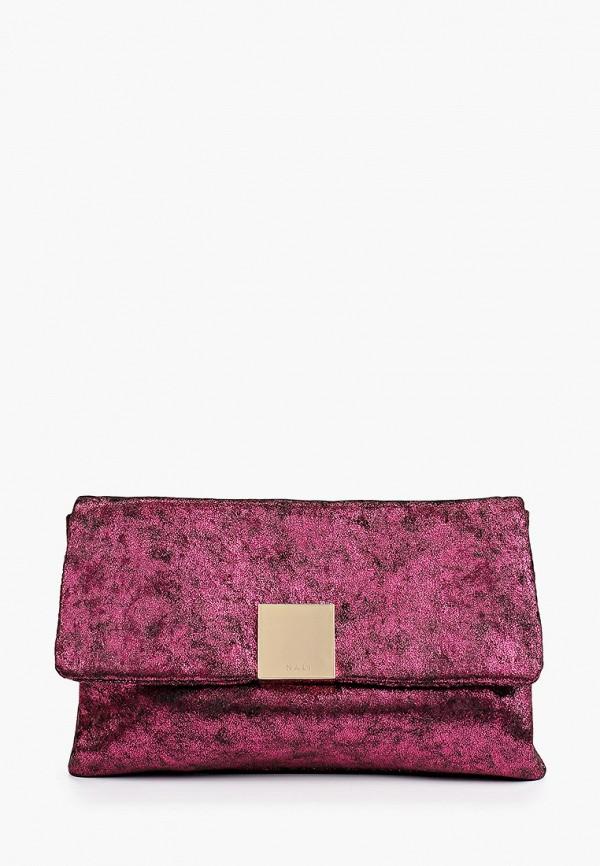 женский клатч nali, фиолетовый