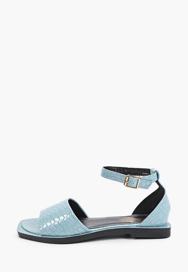 женские сандалии diora.rim, голубые