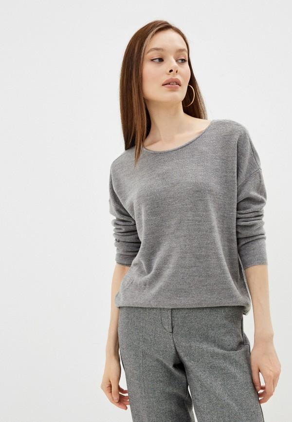 женский джемпер only, серый