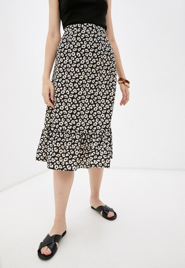 женская юбка-трапеции jacqueline de yong, разноцветная
